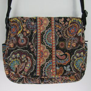 Vera Bradley Computer Laptop iPad Crossbody Bag